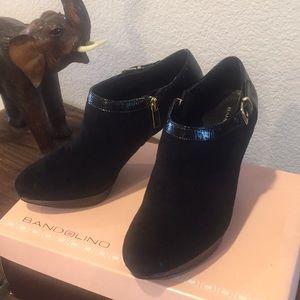 Bandolino short leather boots